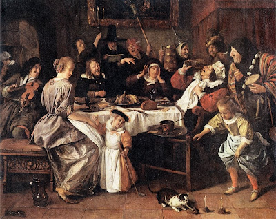 Painting by Jan Steen