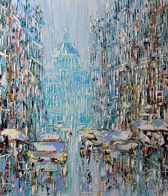 Artworks by Dmitry Kustanovich, Russian Artist.