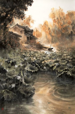 Chinese Landscape Painting. Zhao Wuchao