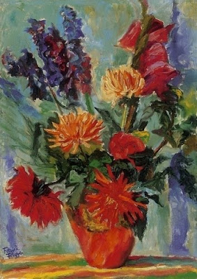 Still Life by Frank Frigyes, Hungarian Painter