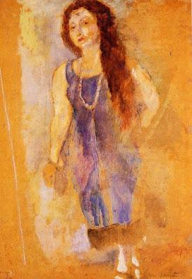 Jules Pascin. Rita Barber, 1923