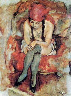 Jules Pascin. Claudia Resting,1913