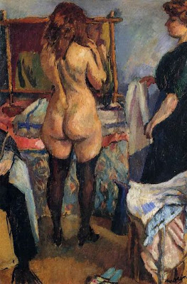 Jules Pascin. Dressing Girl, 1912