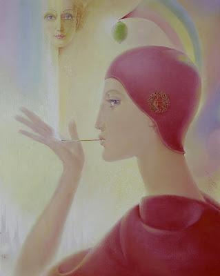 Bellor, Belgian Symbolist Painter. The Magic Flute