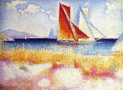 Regatta, 1895 by Henri Edmond Cross