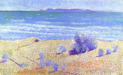 Beach on the Mediterranian, 1891 by Henri Edmond Cross