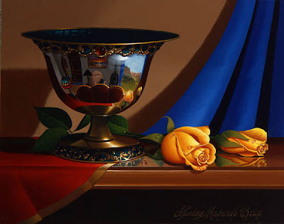 Still Life by Stanley Maxwell Brice. Sunlit
