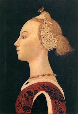 Portraits of  Women of Italian Renaissance. Paolo Uccello. Portrait