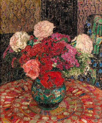 Leon De Smet. Still Life with Flowers in a Pot