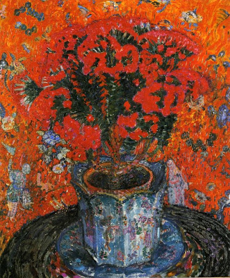 Leon De Smet. Vase of Flowers