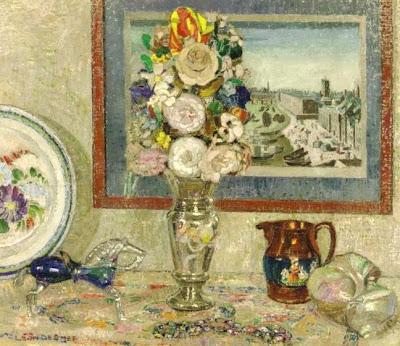 Leon De Smet. La Table Fleurie