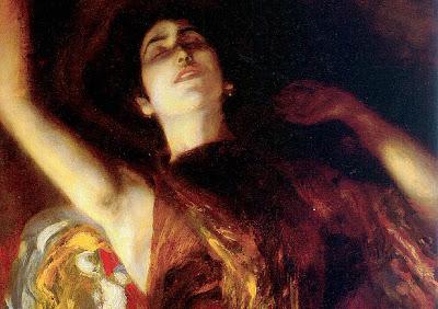 Albert von Keller. Cassandra, 1911