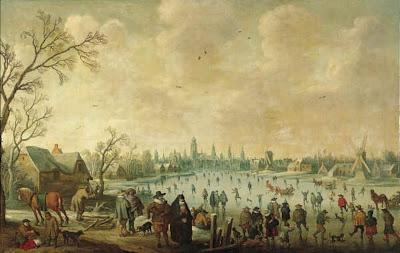 Painting by Joost Cornelisz Droochsloot