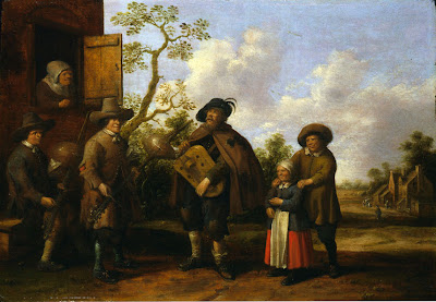 Painting by Joost Cornelisz Droochsloot, Dutch Painter