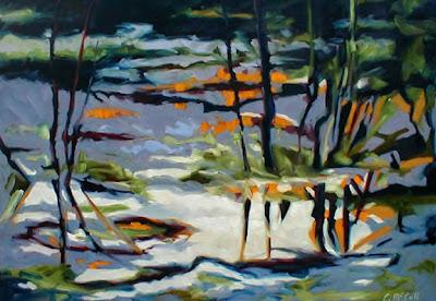 American artist Carol McCall