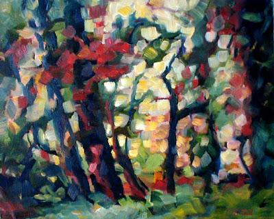 Carol McCall. Landscape Painting