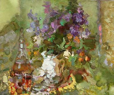 Painting by Zhang Jing Sheng