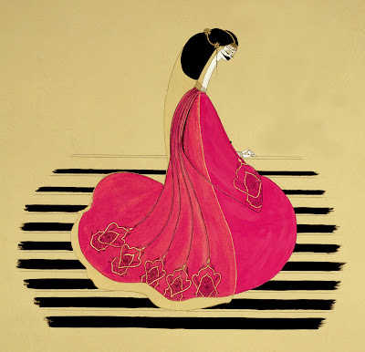 Hayv Kahraman's Paintings. Pink Tears