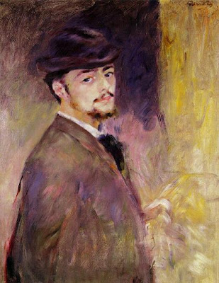 Pierre-Auguste Renoir. Self Portrait, 1876