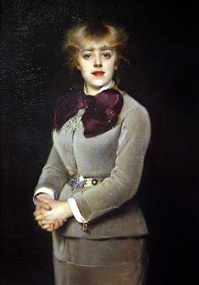 Louise Abbéma. Portrait of Jeanne Samary, 1879
