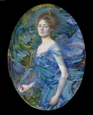 Miniature Painting. The Nymph, 1908