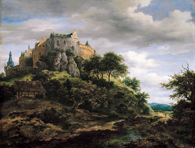 Jacob Isaackszon Van Ruisdael. View of Benthiem Castle