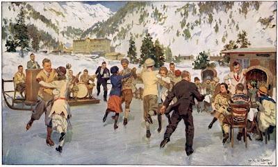 Winter Painting. W.R.S.Scott