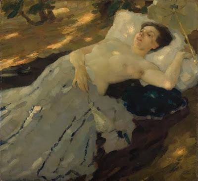 Women in Painting by Leo Putz, German Artist