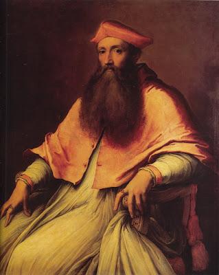 Sebastiano del Piombo. Portrait of Cardinal Reginald Pole