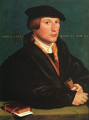 Hans Holbein the Younger. Portrait of a Member of the Wedigh Family