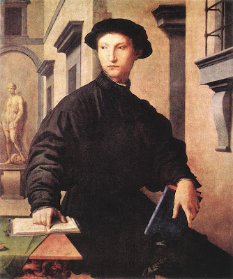 Agnolo Bronzino, Portrait of Ugolino Martelli