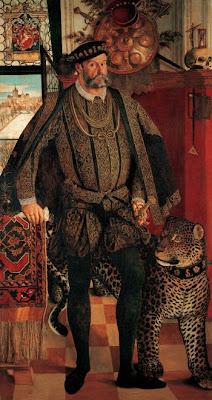 Hans Mielich. Portrait of Ladislaus von Fraunberg, Count of Haag
