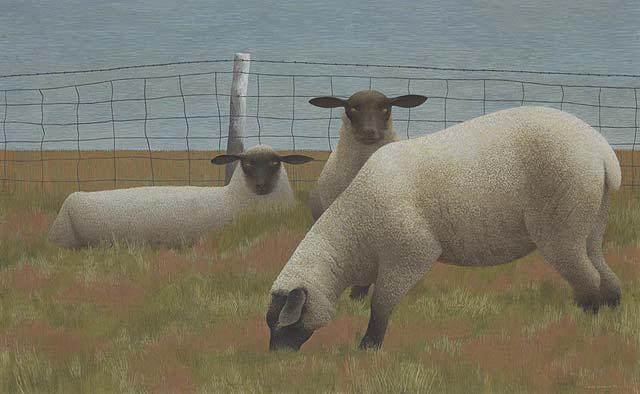 Ca s'est passé en août ! Three+Sheep+++1954