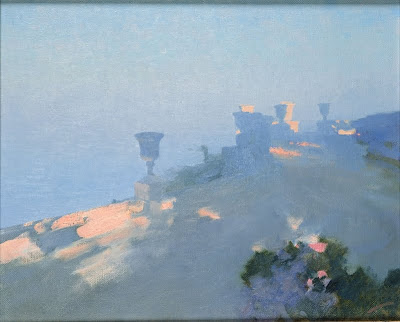 Seascape Painting by Bato Dugarzhapov. Early Morning