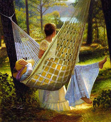 Hammock in  Painting Peter Taylor Quidley