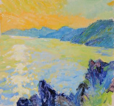 Landscapes by British Artist Hugo Grenville