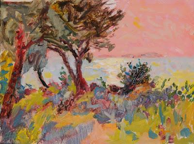 Landscape Painting by Hugo Grenville British Artist