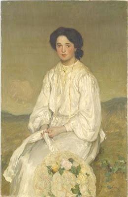 Portrait Painting by Emanuel Phillips Fox Australian Impressionist Artist