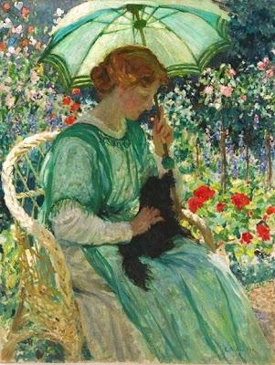 Women in Painting by Australian Impressionist Artist Emanuel Phillips Fox