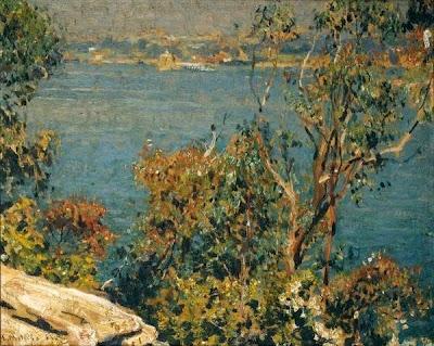 Landscape Painting by Emanuel Phillips Fox Australian Impressionist Artist