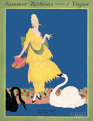 Helen Dryden's Art Deco Fashion Drawings