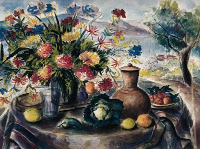 Still Life Painting by French Artist André Dunoyer de Segonzac