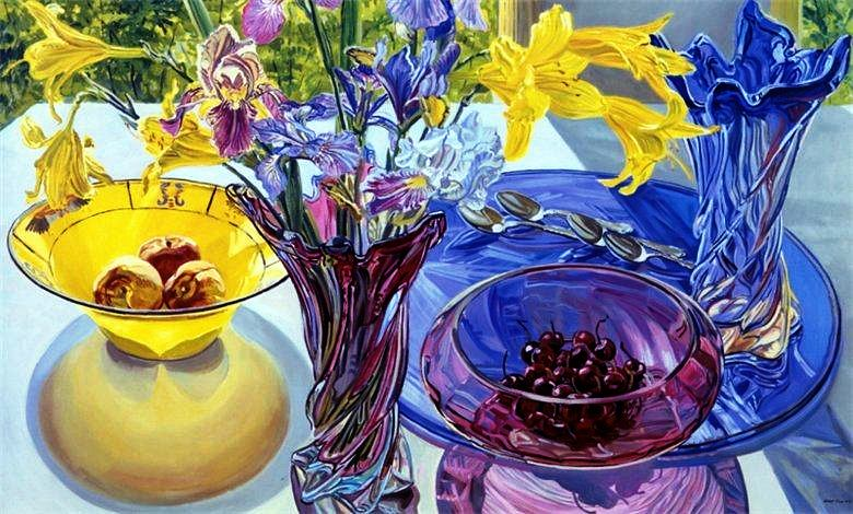 still life painting by janet fish american painter blog