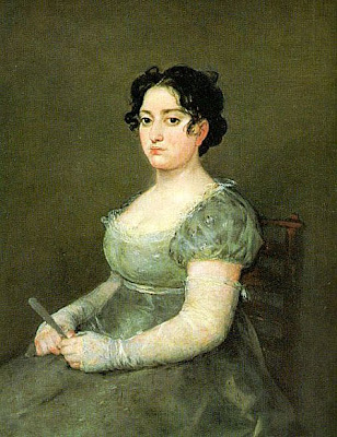 The Woman with a Fan by Goya y Lucientes