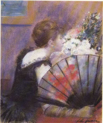 Fan in Painting