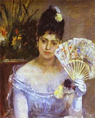 Fan in Painting Berthe Morisot