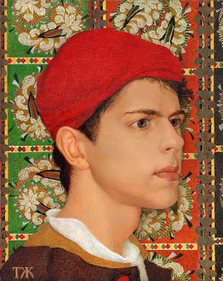 Portrait Painting by Russian Artist Tatiana Zhemchuzhnikova