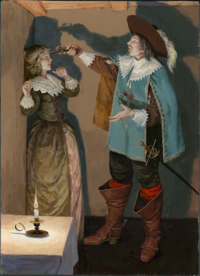 Russian Illustrator Denis Gordeev Three Musketeers