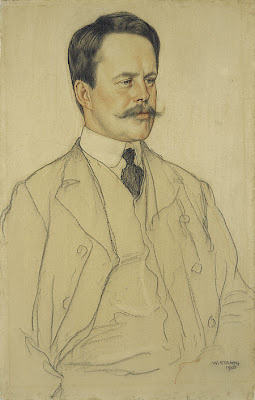 Portrait Painting by Scottish Artist William Strang