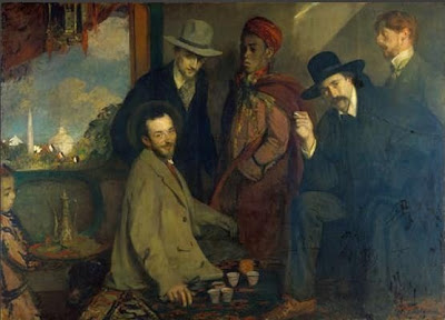 Portraits by Jacques Emile Blanche French Artist